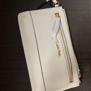 Calvin Klein wristlet purse
